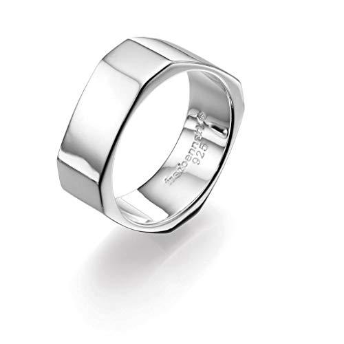 Fred Bennett Herren-Ring Silber achteckig R3305-Z