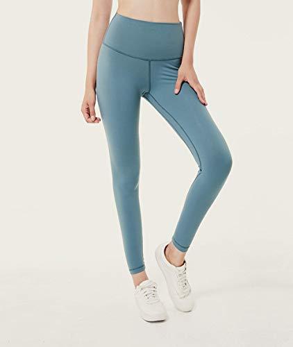 ZCJB Superweiche Push-Pull-Strumpfhose für Yogahosen Lulu Yoga Fitness-Hosen Damen-Stretch-Sportstrumpfhose Schweißresistente Fitness-Sportgamaschen mit hoher Taille