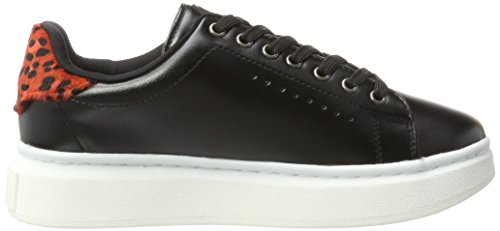 Colours of California Damen Sunh01-f17 Sneaker Schwarz (Black)