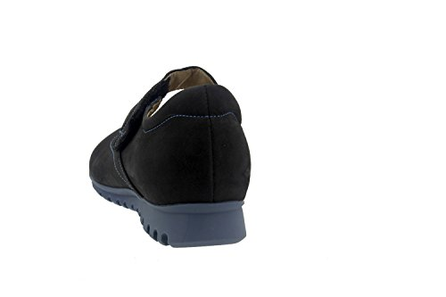 Chaussures Femme Confort Cuir Piesanto 7527 Mary Jean Confort Décontracté Largeur Spéciale Negro