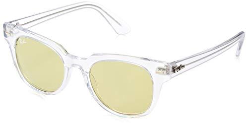 Ray-Ban Unisex-Erwachsene 912/4C Sonnenbrille, Mehrfarbig (Trasparent), 49