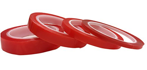 10Meter STICKY TAPE Doppelseitiges Klebeband - EXTRA STARK Doppel-Klebeband DOPPELT - Haftband Montageband für Haushalt, Werkstatt, Bau, Wohnung, Renovierung, KFZ - PREMIUM QUALITÄT (10mm x 10Meter)
