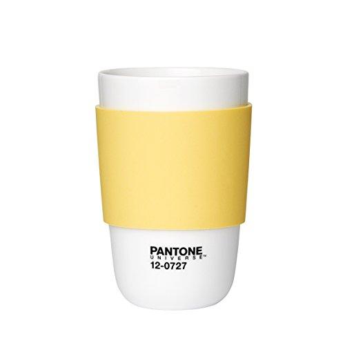 Pantone Kaffeebecher, hellgelb, 375ml