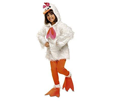 My Other Me Disfraz de Gallina, talla 10-12 años (Viving Costumes MOM01276)