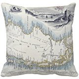 'Patagonia FROM A Series of World Maps published B r90b582 a2a9284acc85b1821bb38bcc38 2izwx 8byvr Pillow Case 18 * 18 \