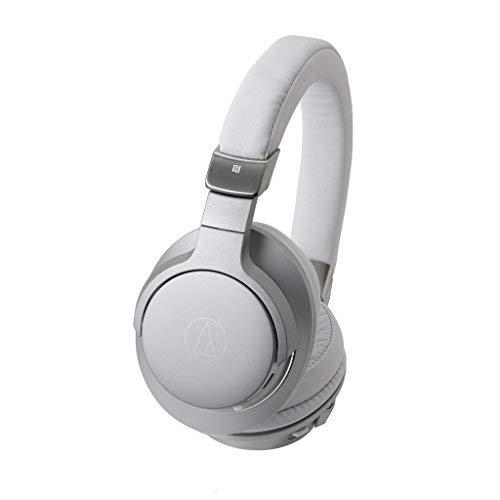 Audio-Technica ATH-AR5BTSV Hochauflösender, drahtloser Over-Ear-Kopfhörer Silber thumbnail