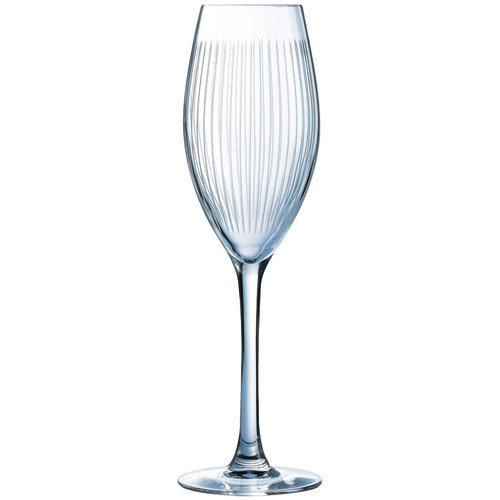 Luminarc Lounge Club Set 4 Champagnergläser, 22 cl, 15 x 15 x 23 cm (9205400) -
