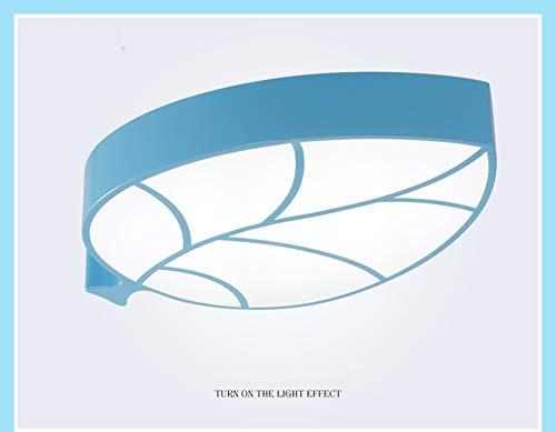 erzimmer Deckenleuchte, LED Grün Moderne Acryl Lampenschirm Kreative Auge Kronleuchter Junge Mädchen Schlafzimmer Studie Cartoon Leuchte-blue ()
