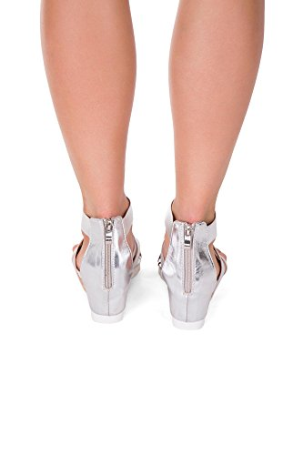 Lusty Chic , Bout ouvert femme silver