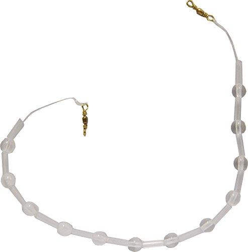 Preisvergleich Produktbild Ghost Kristallkette sinkend Forelle Kristallglas,  Forellenangeln,  Forellenmontage zum Angeln auf Forellen,  verwendbar mit Sbirolinos oder einzeln