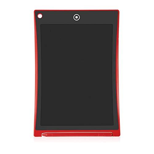 BABIFIS 8,5 Pulgadas se Puede borrar parcialmente Tableta Dibujo para niños Practicar Palabras Pantalla LCD electrónica Resaltar Luz Pequeña Pizarra Red