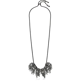 ABS by Allen Schwartz Change of Heart Necklace, Hematite/Crystal
