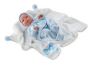 Llorens 73849Newborn Nico 40cm Doll