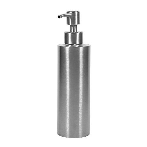 Dispensador de la loción de la encimera del dispensador de la bomba del jabón líquido del acero inoxidable 350ml para el envase del jabón de la caja del champú de la cocina o del cuarto de baño