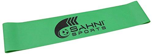Sahni Sports Latex Exercise Resistance Loop Band, Standard (Green, 24 cm)