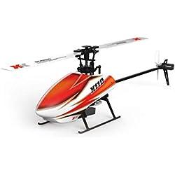 ZY Helicóptero de Control Remoto helicóptero de 6 pases Modelo de helicóptero teledirigido eléctrico Juguete