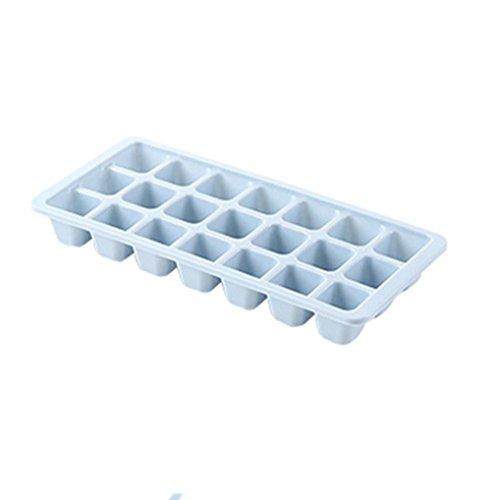 Trada Eiswürfelformer, 21 60 96 Cavity Ice Cube Tray Box Mit Deckel Abdeckung Trinken Jelly Freezer Mould Mould Maker Eiswürfelbox mit Deckel aus Kunststoff, robuster Eiswürfelbehälter (B) Silikon-pan-liner