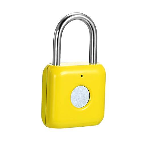 ZTT Fingerabdruck-Vorhängeschloss, wasserdichtes schlüsselloses Gepäckschloss ohne Passwort