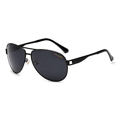 Kicode Herren Police Sonnenbrille Polarisieren Außenfahr dunkle Reflektierende