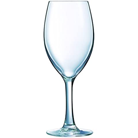 Luminarc 9205349 Wine Glass piede Felicity Clear Glass 35 cl Pack 3