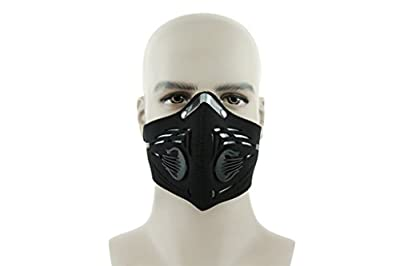 Skysper Autumn Winter Premium Dustproof Cycling Mask Anti-Pollution Half Face Racing Mask by Skysper