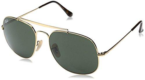 RAYBAN JUNIOR Herren Sonnenbrille General Gold/Green 57