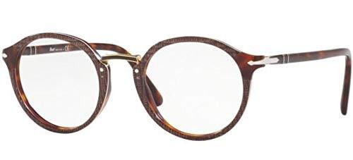 Ray-Ban Herren 0PO3185V Brillengestelle, Braun (Brown), 48.0