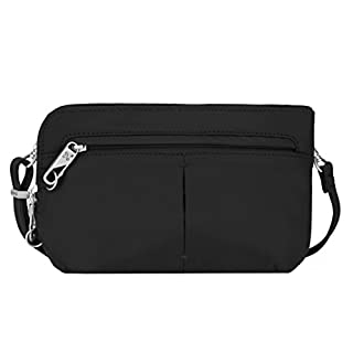 Travelon Anti-Theft Classic Convertible Crossbody and Waistpack, Black, One Size (B00SU4XU7I) | Amazon price tracker / tracking, Amazon price history charts, Amazon price watches, Amazon price drop alerts