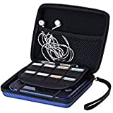 AUSTOR Travel Carrying Case Protective Cover for Nintendo 2DS, Blue