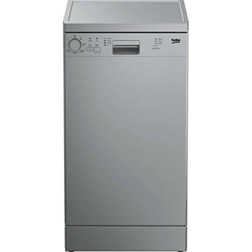 Beko DFS05011S Autonome 10places A+ lave-vaisselle - Lave-vaisselles (Autonome, Argent, Compact (45 cm), Argent, boutons, Rotatif, Statique)