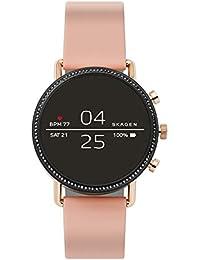 Skagen Damen Digital Smart Watch Armbanduhr mit Silikon Armband SKT5107