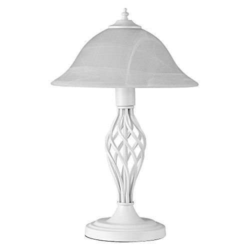 -lampe-de-table-bureau-chevet-poser-lgant-design-traditionnel-memphis-torsade-fer-forg-en-crme-blanc