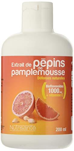 Nutrisanté Extrait de Pépins de Pamplemousse Polyphénol 200 ml