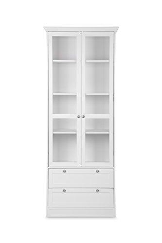 vitrine landhaus wei bestseller shop f r m bel und einrichtungen. Black Bedroom Furniture Sets. Home Design Ideas
