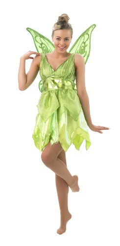 Fee Tinkerbell als Elfe Karneval Fasching Gr.S (Disney Fee Kostüm)