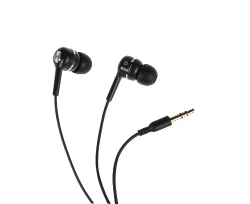 Vivanco Fusion Super Bass - Auriculares in-ear, negro