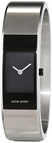 Jacob Jensen Women's Quartz Watch JACOB JENSEN ECLIPSE ITEM NO. 461 JACOB JENSEN ECLIPSE ITEM NO. 461 with Metal Strap