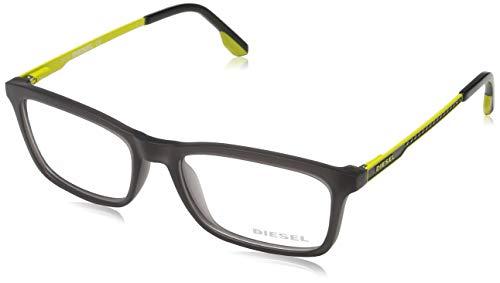 Diesel Unisex-Erwachsene Brille DL5048 020 53 Brillengestelle, Schwarz,