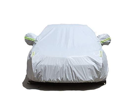 GAOY-CAR COVERS Bentley Mulsanne Continental Auto-Kleidungs-Abdeckung Starke Regenschutz-Sonnenschutz-Isolierung Neuer spezieller Auto-Jacken-Sonnenschutz-Staub (Farbe : Gray, größe : Mulsanne)