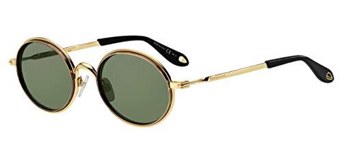 Givenchy Herren Gv 7052/S Qt 06j 52 Sonnenbrille, Gold Havana/Green