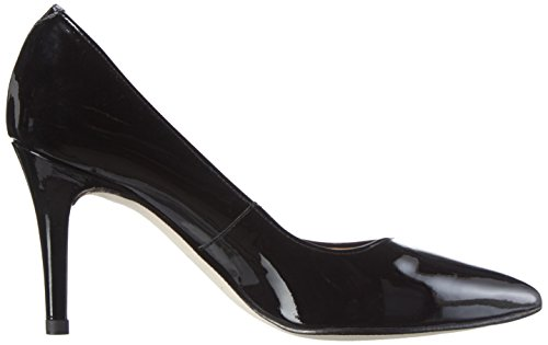 Unisa Damen Techi_pa Pumps Schwarz (Black)