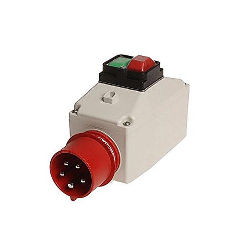 Preisvergleich Produktbild Gehäuse MS.P51 für ABL-Motorschutzschalter mit 16A-CEE Phasenwender