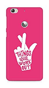 AMEZ things will work out Back Cover For Letv Le 1S