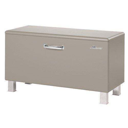 Miami 735701TP Sitzbank mit 1 Klappe, Holz, Taupe, 37 x 80 x 45 cm