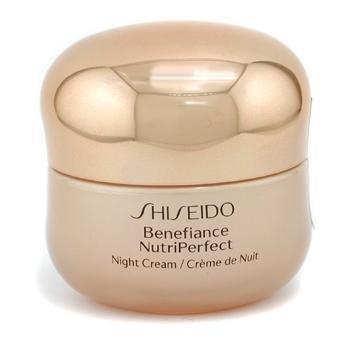 Shiseido Benefiance Nutriperfect Night Cream 1.7 oz/ 50 ml by Shiseido (English Manual)