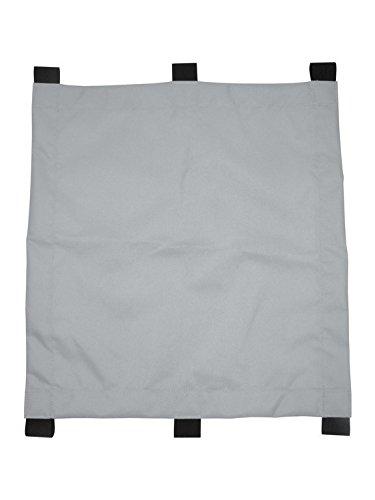 Sonnensegel für Kinderanhänger XLC Mono für XLC Mono silber für 1-Sitzer ab