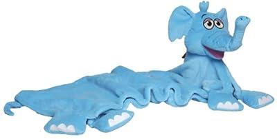 Snuggle Pets 85606 - Manta de seguridad con diseño de elefante, color azul de Flair Leisure Products