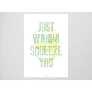 Kunstdruck Poster / Squeeze