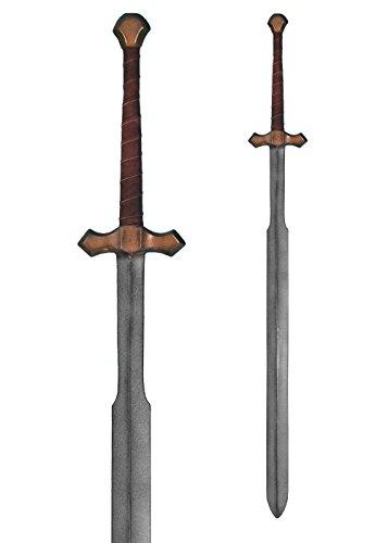 LARP Schwert Zweihänder 140 cm aus Schaumstoff Langschwert Mittelalter Kriegsschwert Polsterwaffe Schaukampf (Epic Cosplay Kostüme)