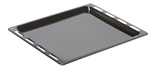 DREHFLEX® - Backblech / Blech / Universalpfanne passend für diverse Herde von Bosch / Siemens / Constructa / Neff / Junker&Ruh- passend für Teile-Nr. 00748225 / 748225 - 442 x 370 x 24,5mm - emailliert